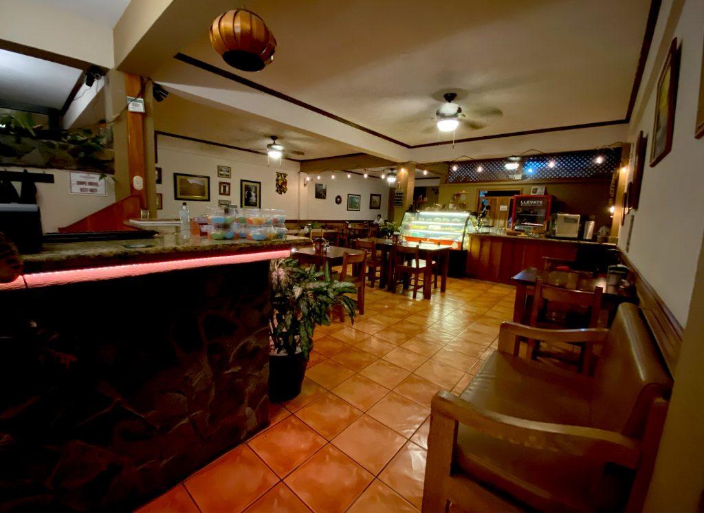 Recepción del Restaurante Hotel Guadalupe