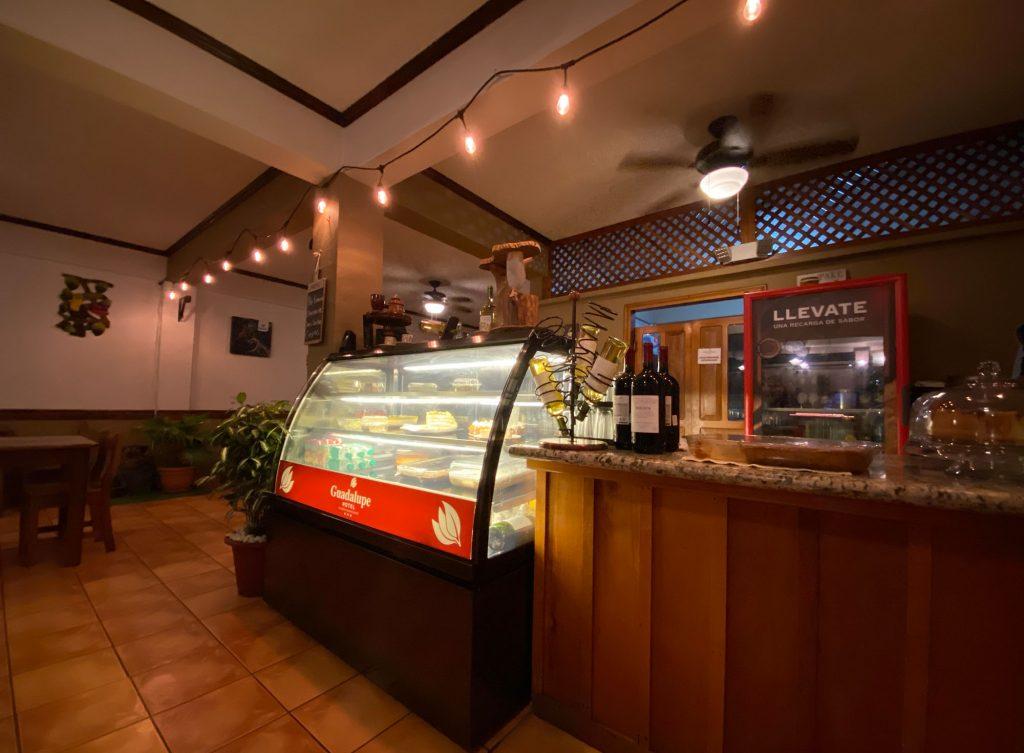 Vitrina Restaurante Hotel Guadalupe
