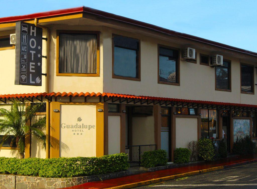Fachada Hotel Guadalupe